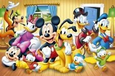 MICKEY MOUSE & FRIENDS POSTER - 24x36 - DISNEY 159501