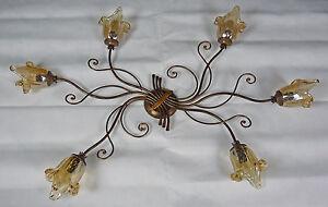 Plafoniere In Cristallo Di Murano : Plafoniera luci vetrilamp ceiling lights