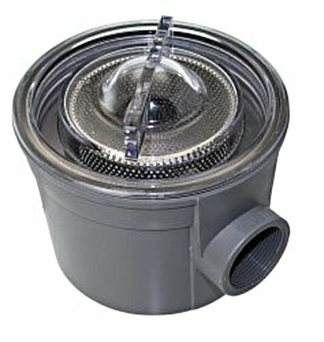 Inlet Strainer Cooling Water Filter Universal 170mm Hose Diameter 1 1//2 inch