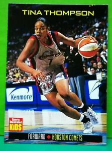 Tina Thompson card 1998 Sports Illustrated For Kids #745