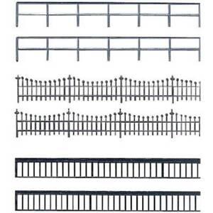 Recinzione-di-ferro-modello-in-plastica-auhagen-42-558-h0-tt