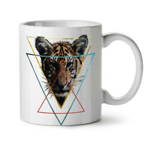 Wild Animal Tiger Face NEW White Tea Coffee Mug 11 oz | Wellcoda