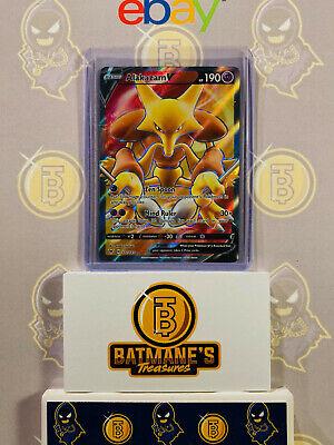 Alakazam V 172//185 NM//M MINT Vivid Viltage Ultra Rare Holo Pokemon Card