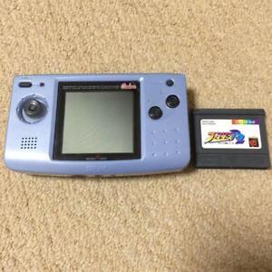 NEC-NEOGEO-POCKET-color-Blue-from-JAPAN