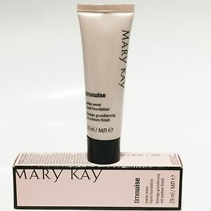 Mary-Kay-Time-Wise-Matte-Wear-Liquid-Foundation-Ivory-Beige-OVP