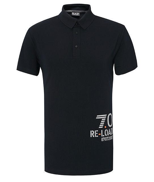 Ea7 EMPORIO armani uomo Short Sleeve T-SHIRT POLO collar new uomo Polshirt 3y