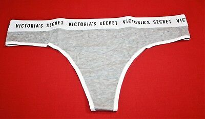 Large NWT Victorias Secret Cotton Shortie VS Logo Waistband Panties-set OF 5