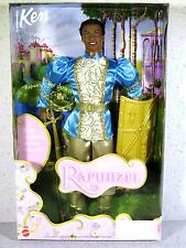 ** NIB BARBIE DOLL 2001 AS RAPUNZEL KEN AS PRINCE STEFAN
