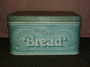 VINTAGE-OLD-WHEAT-HEART-OVEN-BAKED-BREAD-TIN