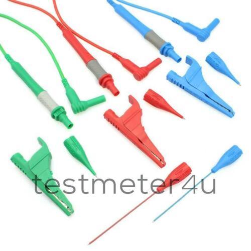 Megger 1001-975B trois fil fusible Test Lead Set