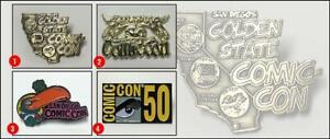 Official-2019-San-Diego-Comic-Con-50th-Anniversary-all-Four-4-Enamel-Pins-Set