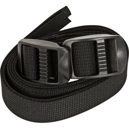 NEW Liberty Mountain 3//4 X 44 Lash Straps Ladderlock Buckles 2-Pack Backpacking