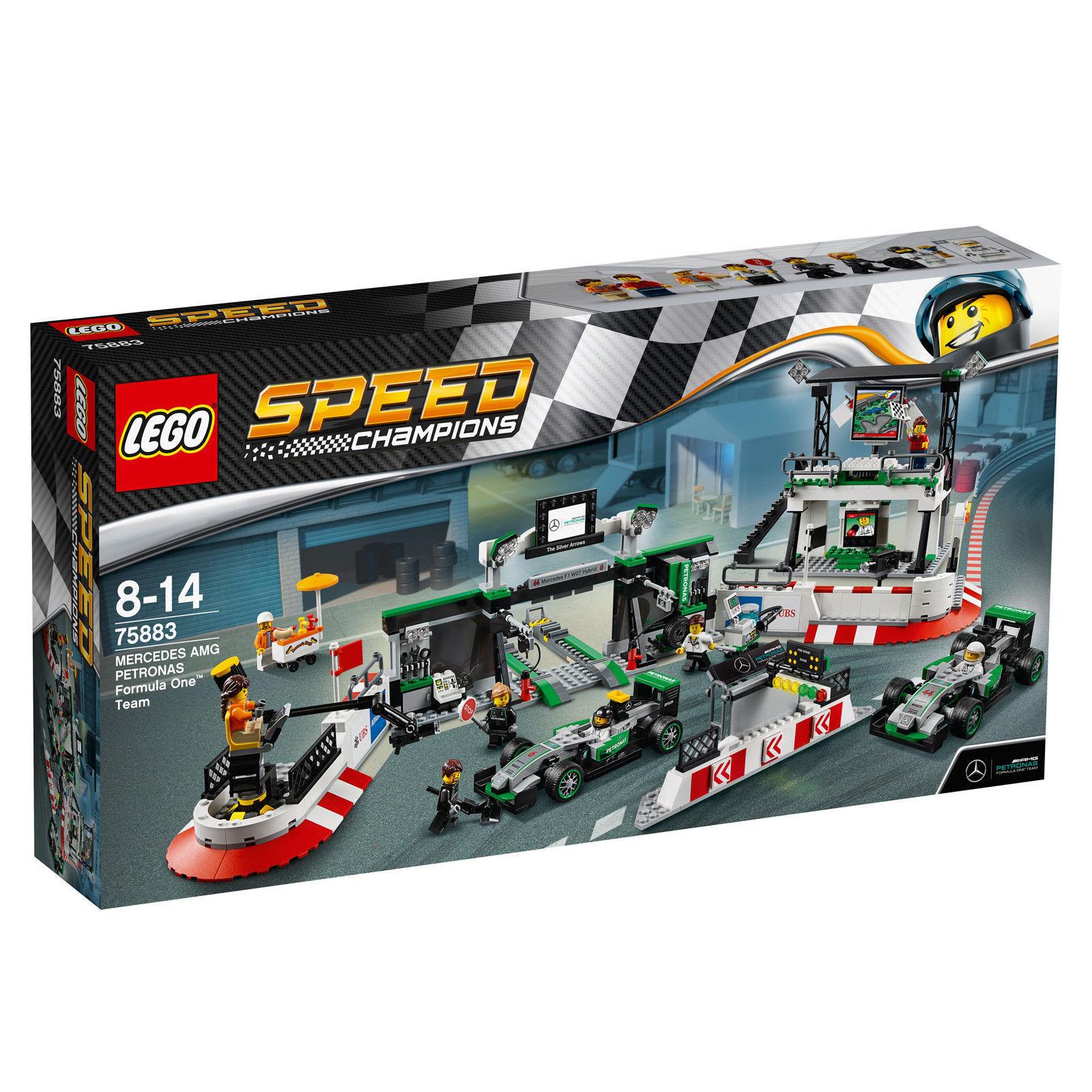LEGO ® Speed Champions 75883  Mercedes Amg Petronas Formula One ™ équipe  Nouveau Neuf dans sa boîte
