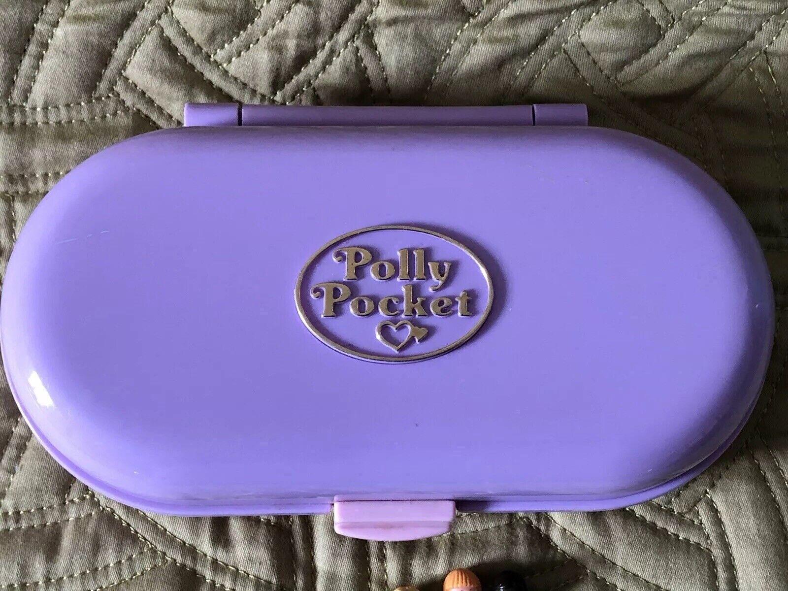 Polly Pocket 1992 Stampin Escuela azulbird recuerdo Collection