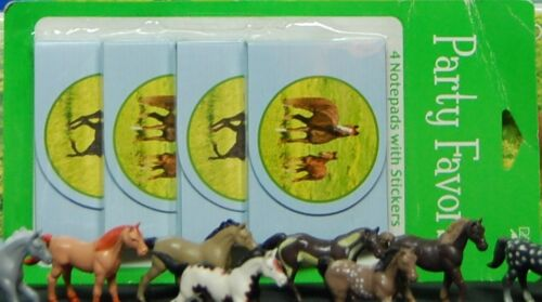 + Wild Horses Party Set # 9 Plates Banner Invites Figure Confetti Loot bags