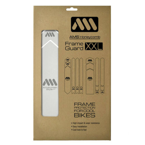 AMS Frame Guard XXL Silver Universal Protection for All Mountain Bicycle