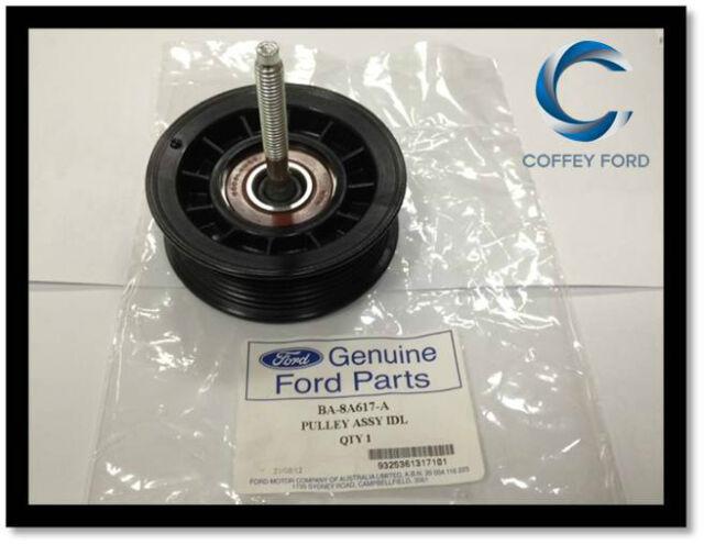 Genuine Ford Idler Pulley Falcon BA/BF/FG, Territory SX/SY/SZ 6cyl. Belt. New.