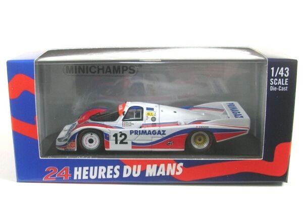 Porsche 956l equipo Porsche Kremer Racing nº 12 Lemans 1986 (yver-striebig-coh