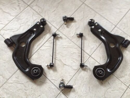 FORD FIESTA MK 4 96-02 TWO FRONT WISHBONE SUSPENSION ARMS  2 LINKS /& 2 ROD ENDS