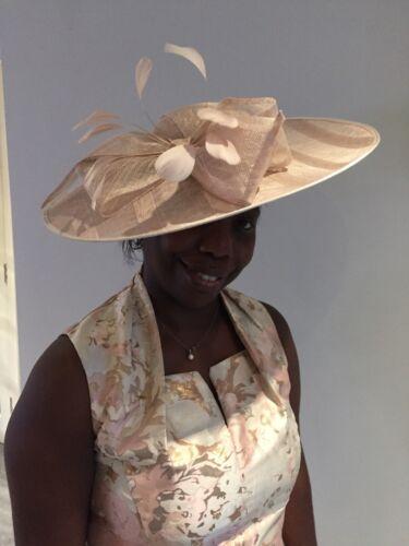 NIGEL RAYMENT NUDE DISC HATINATOR  HAT ASCOT WEDDING  MOTHER OF THE BRIDE