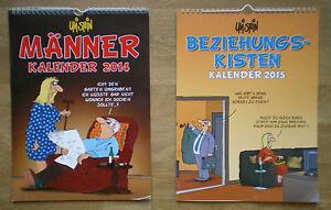 Uli-Stein-Kalender-Maenner-2014-Beziehungskalender-2015-Familienkalender-2011