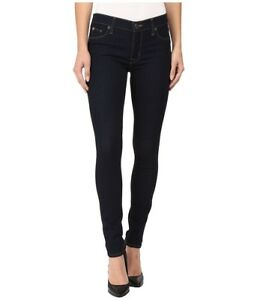 Taille 27 Jeans Moyenne Super Bleu Denim Skinny foncé Femme Hudson Taille Nouveauté zxzSa7vAqw