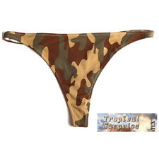 Camouflage Bikini Triangle String Tropical Surprise 3-color Woodland Camo Gr L