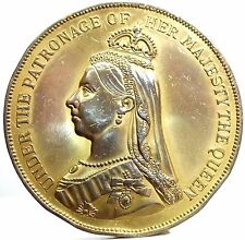 Great Britain-Inghilterra (Victoria Queen) Medal 1890