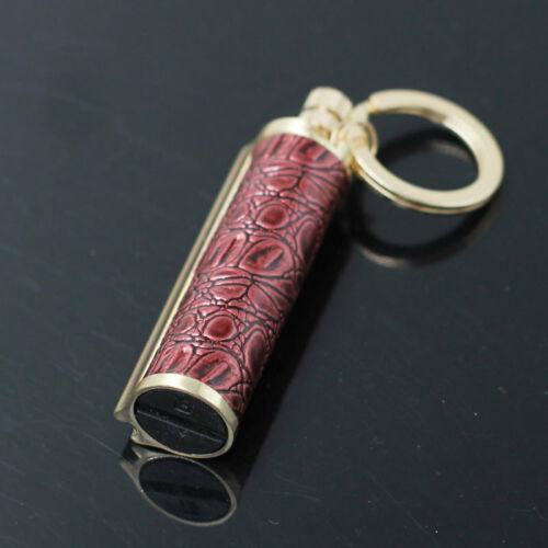 Keychain Reusable Oil Match Flint Fire Lighter Accessories For Camping Travel
