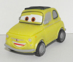 Luigi Yellow Car Figurine 2.5 inch Cars Movie Toy Plastic Figure CAR009