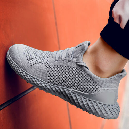 Men/'s Tennis Athletic Sneakers Mesh Breathable Running Jogging Gym Casual Shoes