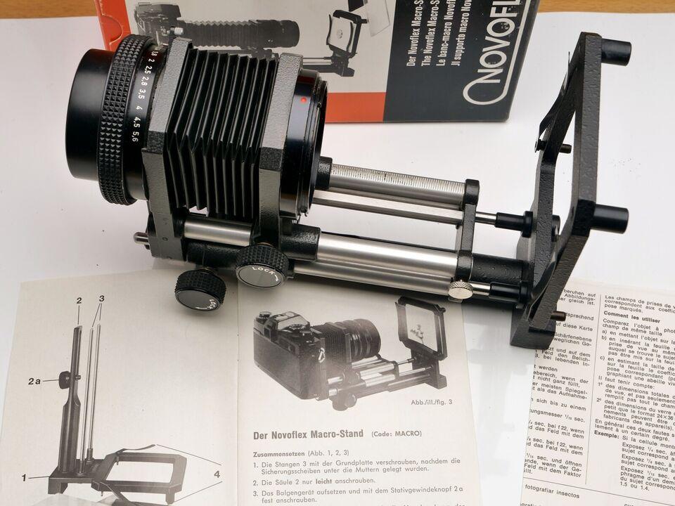Bellows med vertikalstand, NovoFlex, FD mount