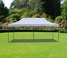 10x20  Canopy Fair Shelter Car Shelter Wedding Pop Up Tent Heavy Duty Steel