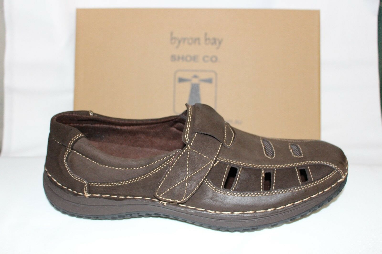 MENS SHOES FOOTWEAR - Byron Bay Suffolk Sandal shoes chocolate