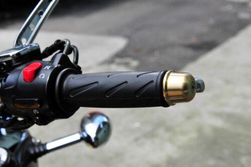 Triumph Bonneville Bar End Cap brass