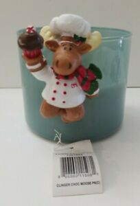 Yankee-Candle-Co-Chocolate-Moose-Baker-Candle-Clinger-Christmas-Winter-retired