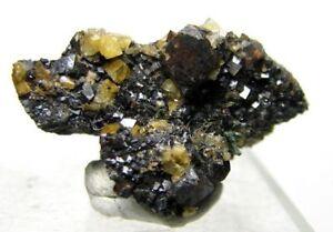 Brazilianite-with-Siderite-and-Gormanite-from-Rapid-Creek-ex-Alfred-Stevenson
