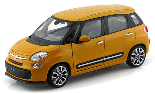 Fiat 500L 2013, Welly Car Model 1 24