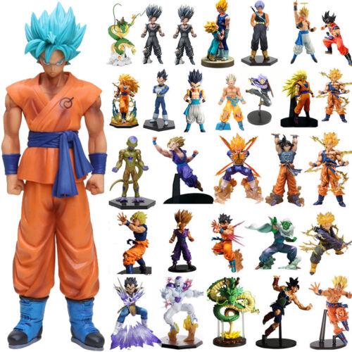 Dragon Ball Z Super Saiyan Son Goku Action Figure Figurines Modell Toy XMAS Gift