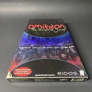 Omikron-The-Nomad-Soul-Big-Box-Version-Complete-CIB-Nice-Condition-EIDOS