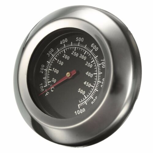 Hot 50~500 Degree Roast Barbecue BBQ Smoker Grill Thermometer Temp Gauge Dia HQ