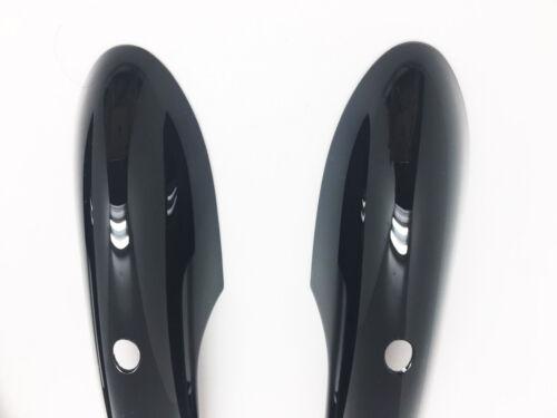 4 Keyless Gloss Black Door Handle Cover For Mini Cooper F55 Hatchback