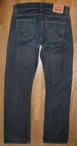 """"""" Levi `S 506 """" D'Homme Jeans / Levis Bleu Jeans En Noir-Bleu W34 """" / L34 """""""