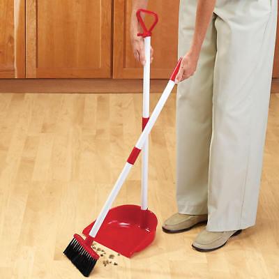 Long Handled Broom Set Duster Pan Kitchen Floor Dustpan Clean Portable  Sweeper 733281464956 | eBay