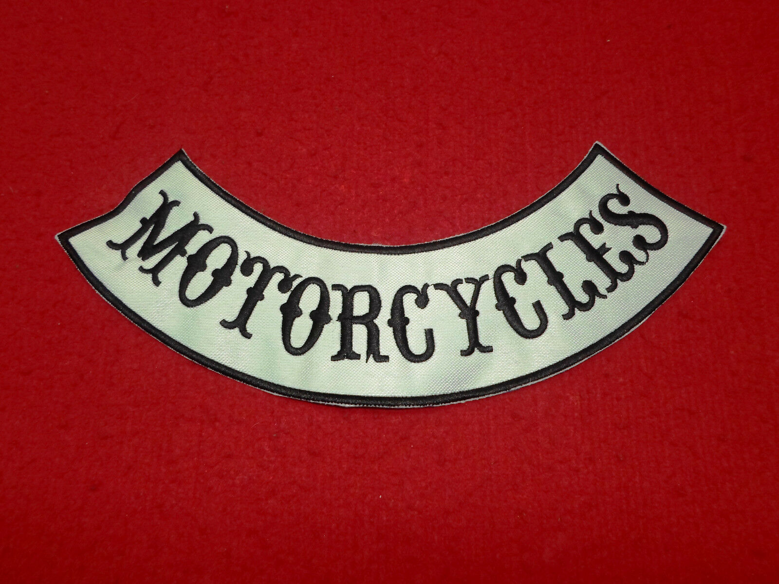 Motorcycles Logo Embroidered Big Patch Patch Patch   11,6  21caa6