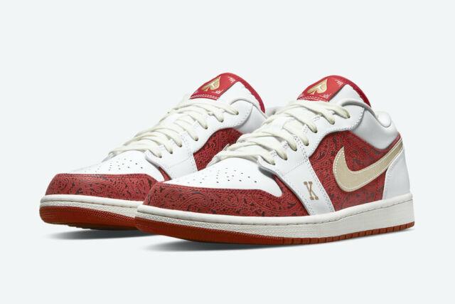 2021 Nike Air Jordan 1 Low SE Spades - Size 13 - DJ5185-100 - Brand New