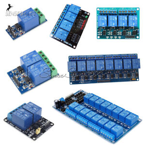 1-2-4-8-16-Channel-12V-Relay-Module-With-optocoupler-For-PIC-AVR-DSP-ARM-Arduino