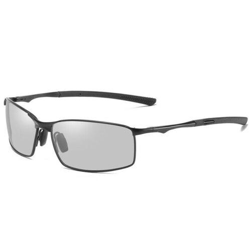 Aluminium HD Polarized Photochromic Sunglasses Men Driving Glasses For Outdoor