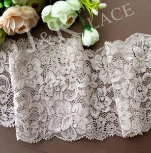 2-meters-12-cm-width-Light-Taupe-Stretch-Lace-Trim