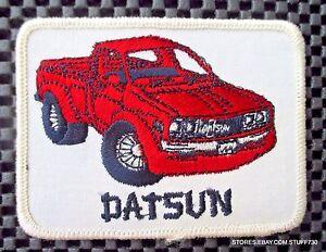 DATSUN-EMBROIDERED-SEW-ON-PATCH-TRUCK-NISSAN-ADVERTISING-UNIFORM-4-034-x-3-034